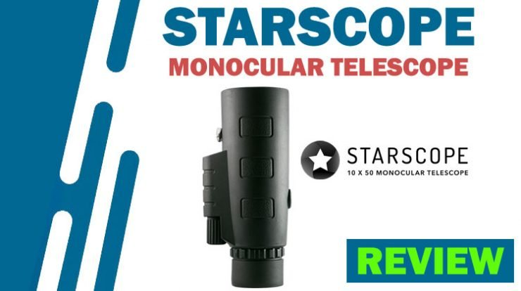 Starscope Monocular Review - 10X Magnification, Small & Compact, Capture Photos, Builtin Compass - ScamsRapid