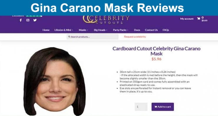 Gina Carano Mask Reviews