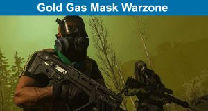 Gold Gas Mask Warzone